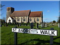 TF6602 : St Andrews Walk, West Dereham by Richard Humphrey