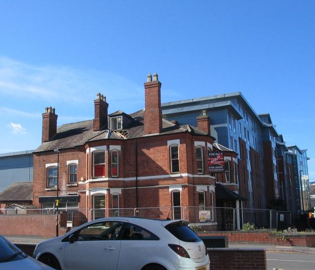 Corner of Regent Street and Queens Road