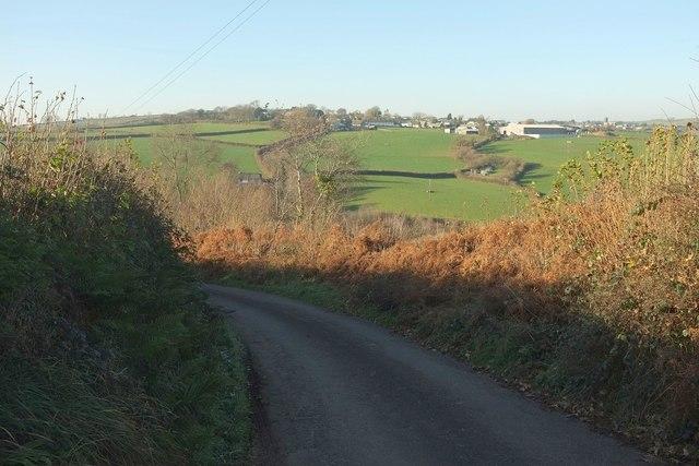 Lane to Kingscott