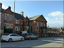 SK1846 : Former Sion Chapel and school, and Cooper's Almshouses, Derby Road, Ashbourne by Alan Murray-Rust