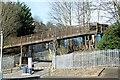 SE0826 : Footbridge over the Hebble Brook valley by Alan Murray-Rust