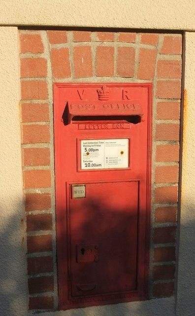 Victorian postbox, Kingscott