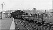 W6871 : Cork, Albert Quay station; Cork, Bandon & South Coast Railway, 1948 by Walter Dendy, deceased