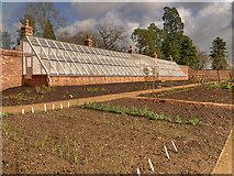 SJ8383 : The Upper (Kitchen) Garden at Quarry Bank Mill by David Dixon