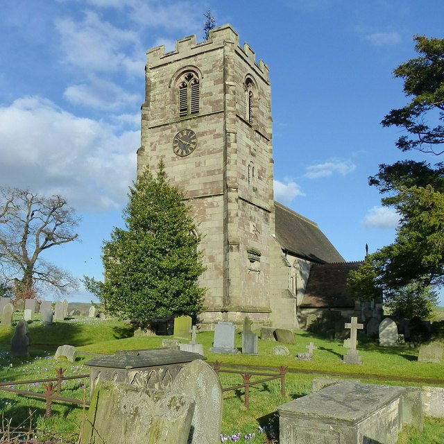 Church of St Peter, Ellastone