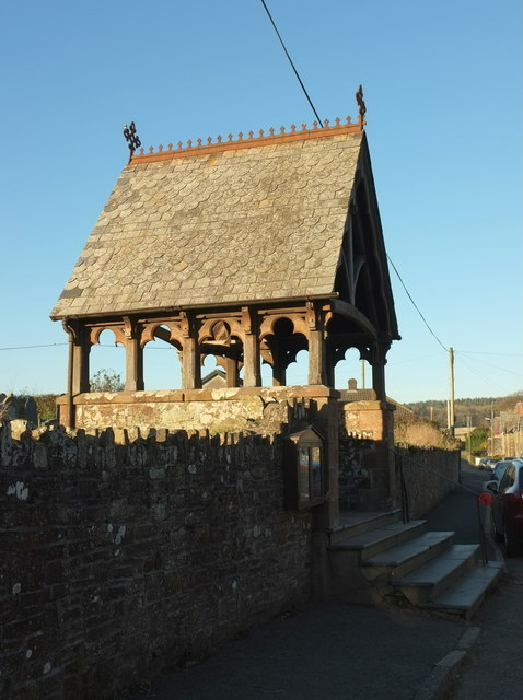 Lych gate, St Giles in The Wood