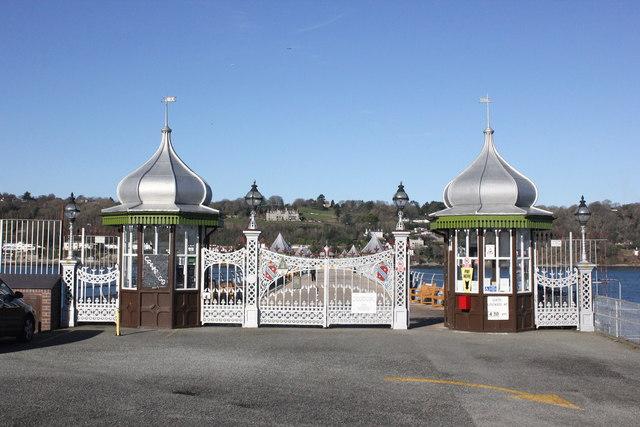 Entrance to Garth Pier (Bangor Pier)