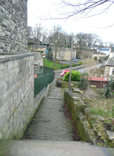 Path from Crowtrees Lane to Jumble Dyke, Rastrick