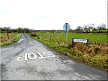 H5374 : Cloghan Road, Drumnakilly by Kenneth  Allen