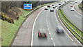 J2864 : The M1, Lisburn - March 2017(1) by Albert Bridge