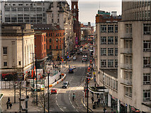 SJ8397 : Manchester, Oxford Street by David Dixon