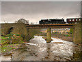 SD7915 : East Lancashire Railway, Brooksbottom Viaduct by David Dixon