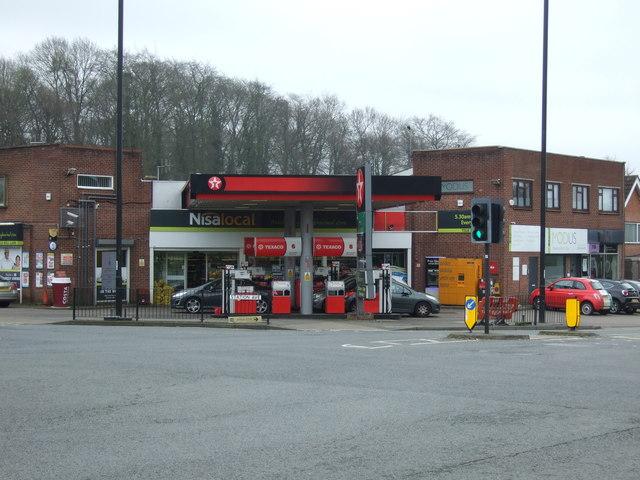 Service station on Tile Hill Lane
