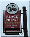 SP2879 : Sign for the Black Prince public house, Tile Hill North by JThomas