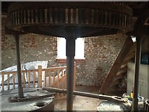 TM2649 : Inside Tricker's Mill by Dave Thompson