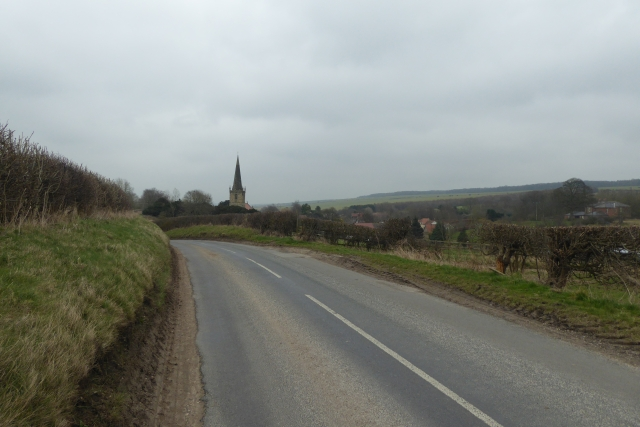 Approaching Kirby Grindalythe