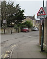 ST7363 : Oldfield Lane traffic signs, Bath by Jaggery