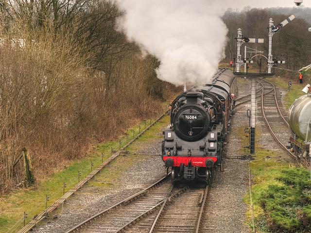 76084 Approaching Ramsbottom