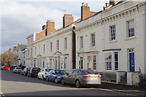 SP3265 : Russell Terrace, Leamington Spa by Stephen McKay