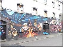ST5973 : Street art on Moon Street by Oliver Dixon