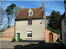 TM0890 : Saffron House in Boosey's Walk by Evelyn Simak