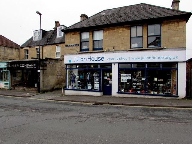 Julian House Charity Shop, Oldfield Park, Bath