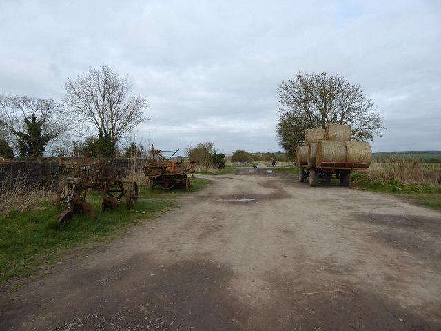 The Ridgeway near Ridgeway Farm