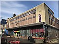 SJ8446 : Newcastle-under-Lyme: public library by Jonathan Hutchins