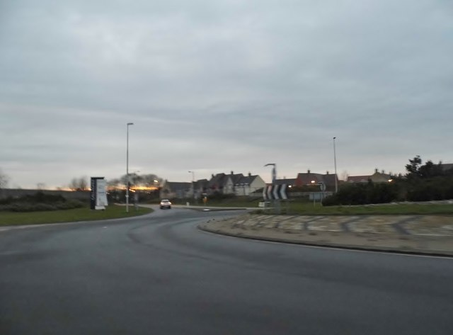 Roundabout on the A6, Wixams