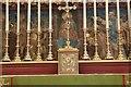 SU7172 : Altar Cross & Candles by Bill Nicholls