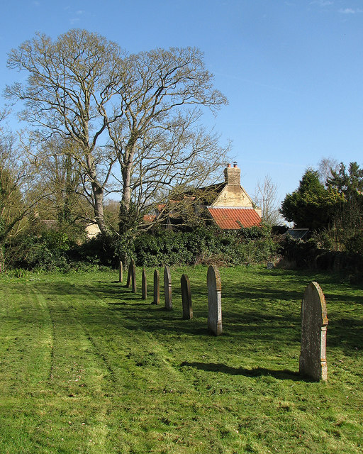 Early spring in Little Wilbraham churchyard