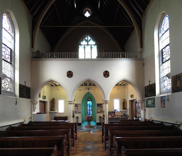 St Joseph, Roehampton Lane, Roehampton, SW15 - West end