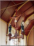 TQ2273 : St Joseph, Roehampton Lane, Roehampton, SW15 - Rood by John Salmon