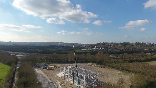 Chilcomb Park development underway