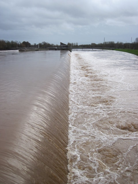 The Side Weir of Trew's Weir Flood Relief Channel