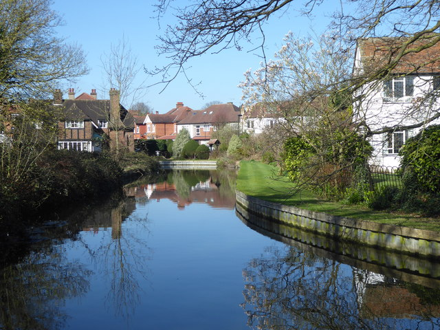 The New River at Winchmore Hill