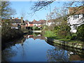 TQ3294 : The New River at Winchmore Hill by Marathon