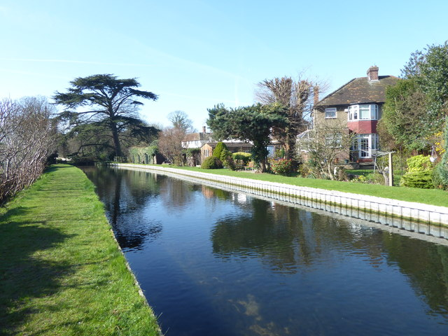 The New River near Firs Lane