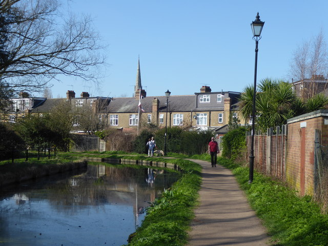 The New River in Enfield