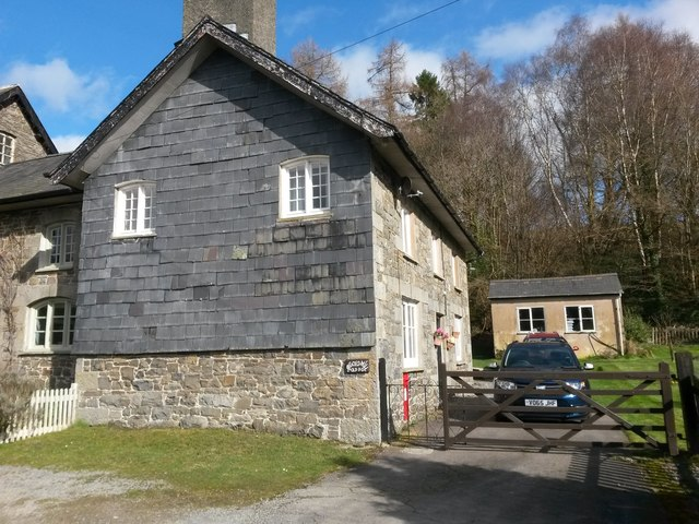 Argoed Mill: the old post office