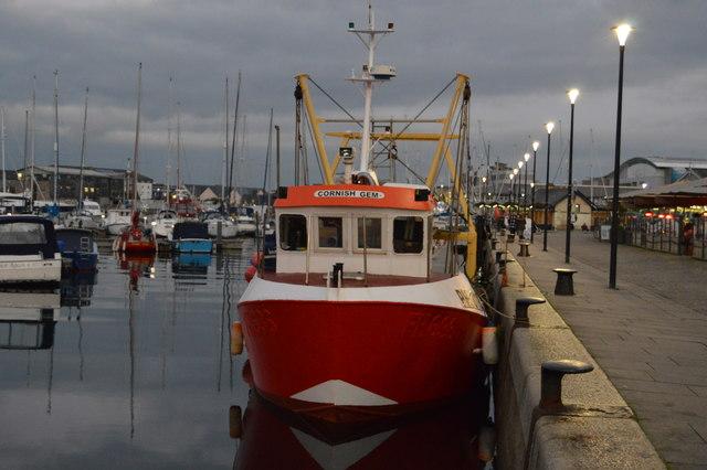 Cornish Gem, Sutton Harbour
