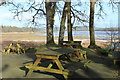 NX5754 : Outside Tables at the Skyreburn Teapot by Billy McCrorie