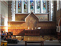 TQ2379 : St Simon, Hammersmith - Sanctuary by John Salmon