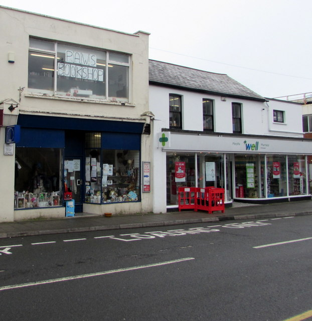 PAWS charity shop, Lias Road, Porthcawl