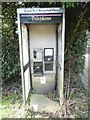 SP9405 : Former KX100 Telephone Kiosk at Bellingdon by David Hillas