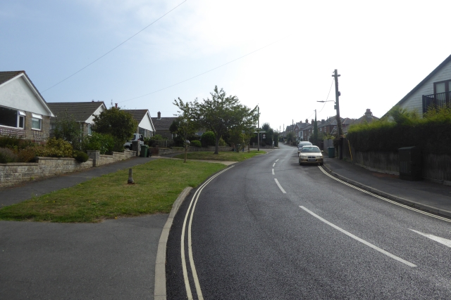 Looking up Church Road