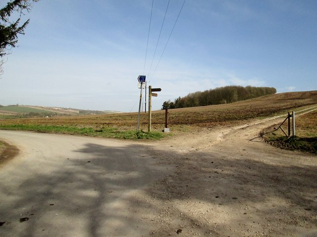Junction  on  the  Yorkshire  Wolds