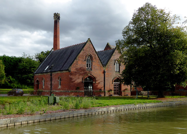 Former pumping station near Snarestone in Leicestershire