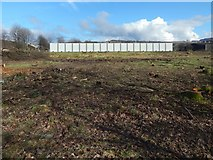 NS3978 : Site of new HGV workshop by Lairich Rig