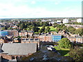 SJ4066 : View looking North from the tower of Chester Cathedral by David Hillas